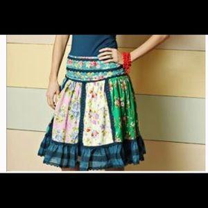 Matilda Jane Skirts - Matilda Jane Good Hart Weekender Skirt M